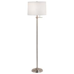 Design Classics Lighting Modern Floor Lamp with Shade 6557-09/SH7211  KIT