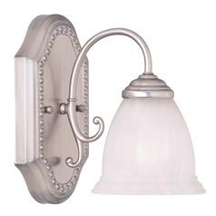 Savoy House Pewter Sconce