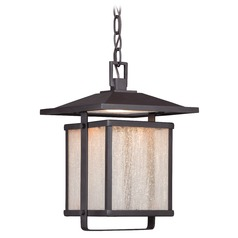 Minka Lighting Hillsdale Dorian Bronze LED Outdoor Hanging Light