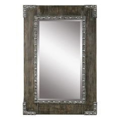 Uttermost Malton Rustic Wood Mirror