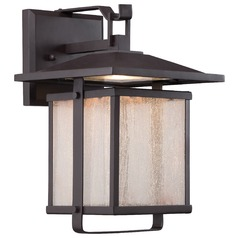 Minka Lighting Hillsdale Dorian Bronze LED Outdoor Wall Light