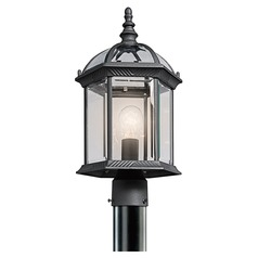 Kichler Lighting Barrie Black LED Post Light