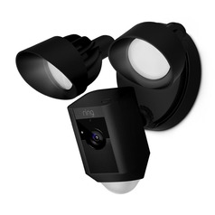 Ring Floodlight Camera Black