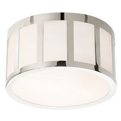 Sonneman Lighting Capital Polished Nickel LED Flushmount Light