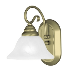 Livex Lighting Coronado Antique Brass Sconce