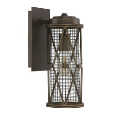 Capital Lighting Jackson Oil Rubbed Bronze Sconce