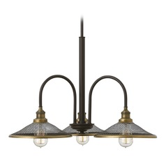 Hinkley Lighting Rigby Buckeye Bronze Chandelier