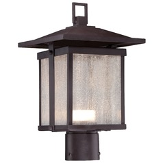 Minka Lighting Hillsdale Dorian Bronze LED Post Light