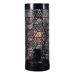 Rubik Copper Bronze Metal Accent Lamp by Kenroy Home