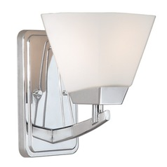 Kendall Chrome Sconce by Vaxcel Lighting