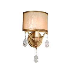 Corbett Lighting Sconce Wall Light in Antique Roman Silver Finish 71-11