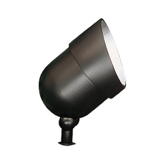 Sea Gull Lighting Modern Flood / Spot Light with Clear Glass in Black Finish 9326-12