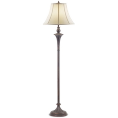 Design Classics Lighting Torch Floor Lamp with Shade 6060-20