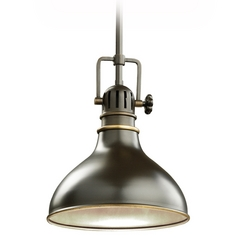 Kichler Nautical Mini-Pendant Light in Bronze Finish - 8-Inches Wide