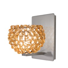 WAC Lighting Gia Brushed Nickel Sconce
