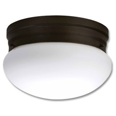 Lithonia Lighting Polished Nickel Flushmount Light