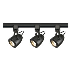 LED Track Light Kit H-Track Black by Nuvo Lighting 3000K 2460LM