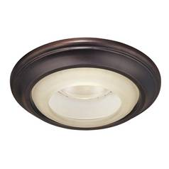 Minka Lighting 6-Inch Lathan Bronze Recessed Light Trim