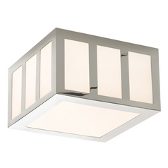 Sonneman Lighting Capital Satin Nickel LED Flushmount Light