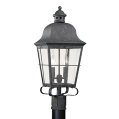Sea Gull Lighting Chatham Oxidized Bronze LED Post Light