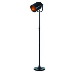 Allen Oil Rubbed Bronze Floor Lamp with Cylindrical Shade by Kenroy Home