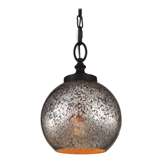 Feiss Lighting Tabby Oil Rubbed Bronze Mini-Pendant Light
