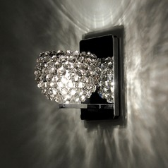 WAC Lighting Gia Chrome Sconce