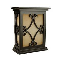 Craftmade Lighting Door Chime with Scroll Design CH1515-BK