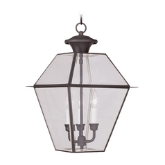 Livex Lighting Westover Bronze Outdoor Hanging Light