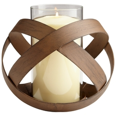 Cyan Design Infinity Copper Candle Holder