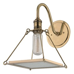 Thorndike 1 Light Sconce - Aged Brass