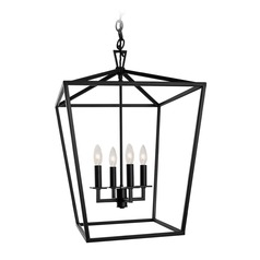 Norwell Lighting Cage Bronze Pendant Light