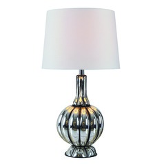 Murdoch Mercury Glass Table Lamp with Empire Shade by Kenroy Home