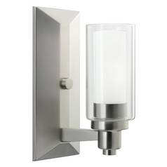 Kichler Sconce Wall Light in Brushed Nickel Finish