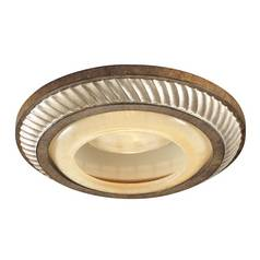 Minka Lighting 6-Inch Aston Court Bronze Finish Recessed Light Trim