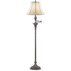 Design Classics Lighting Floor Lamp with Torch Design 6061-20