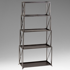 Cyan Design Surrey Bronze Shelving