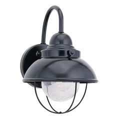 Sea Gull Lighting Sebring Black LED Outdoor Wall Light