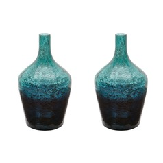 Emerald Ombre Bottle - Set of 2