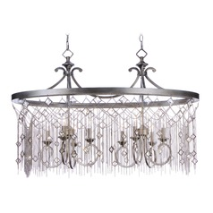 Maxim Lighting Alessandra Silver Mist Chandelier