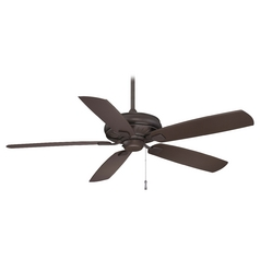 60-Inch Ceiling Fan Without Light in Oil Rubbed Bronze Finish