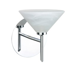 Besa Lighting Kona Chrome Sconce