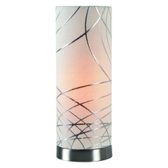 Circo Brushed Steel Accent Lamp by Kenroy Home