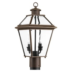 Progress Lighting Burlington Antique Bronze Post Light
