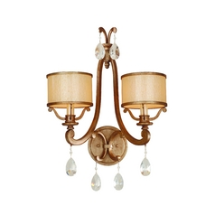 Corbett Lighting Roma Antique Roman Silver Sconce