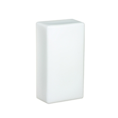 Sconce Wall Light with White Glass