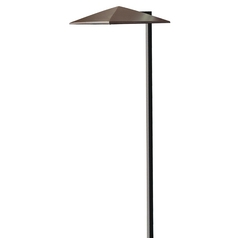 LED Path Light in Anchor Bronze Finish
