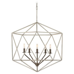 Hinkley Lighting Astrid Glacial / Metallic Matte Bronze Chandelier