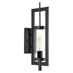 Progress Lighting Mcbee Black Outdoor Wall Light