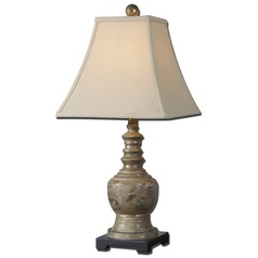 Uttermost Valtellina Taupe Grey Buffet Lamp